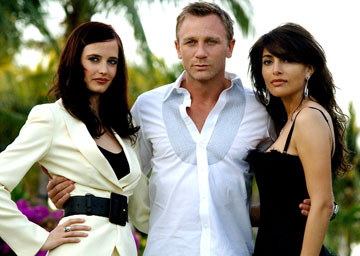 The new Bond and the Bond girls