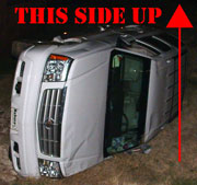 Flipped Escalade